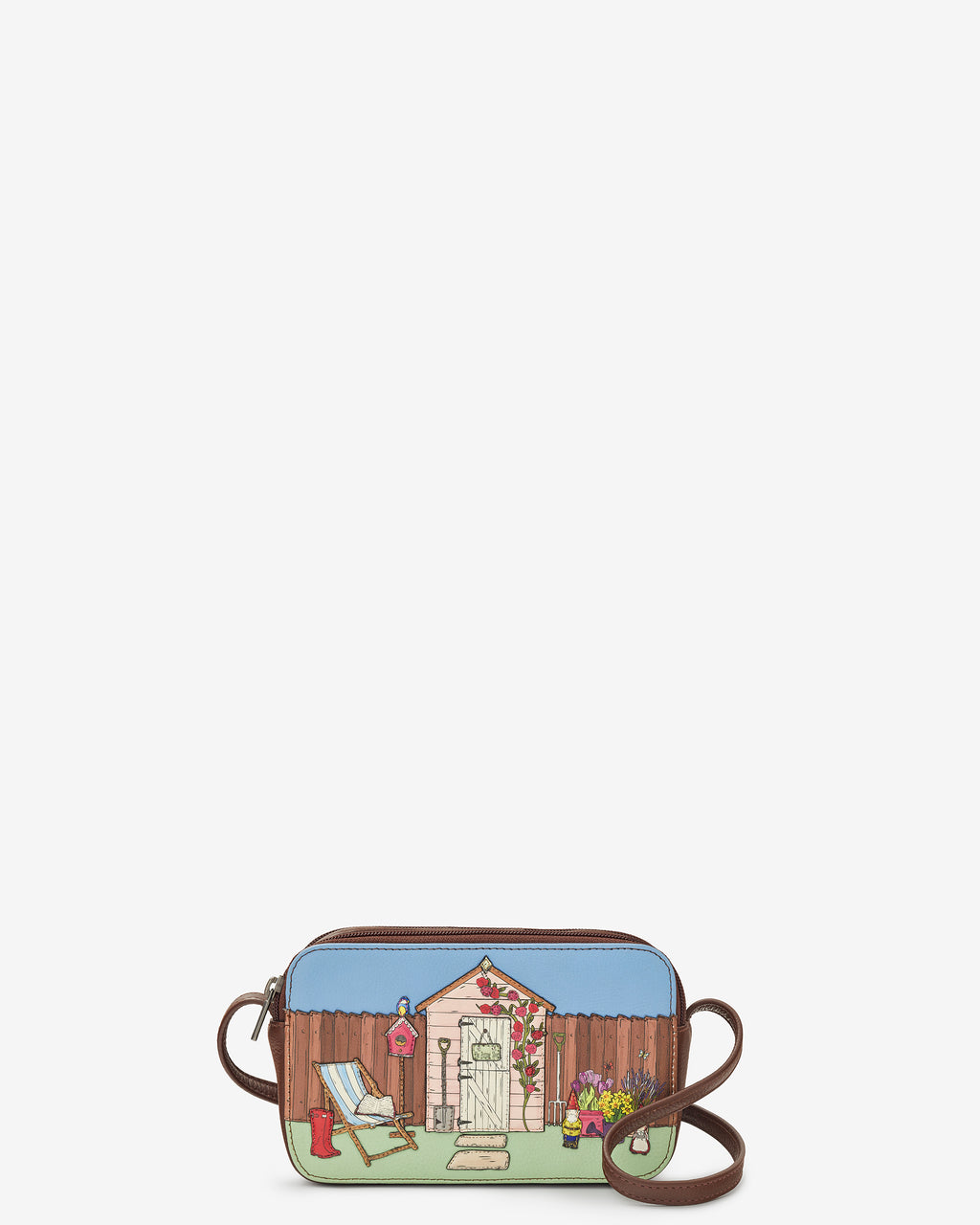 The Potting Shed Porter Leather Cross Body Bag