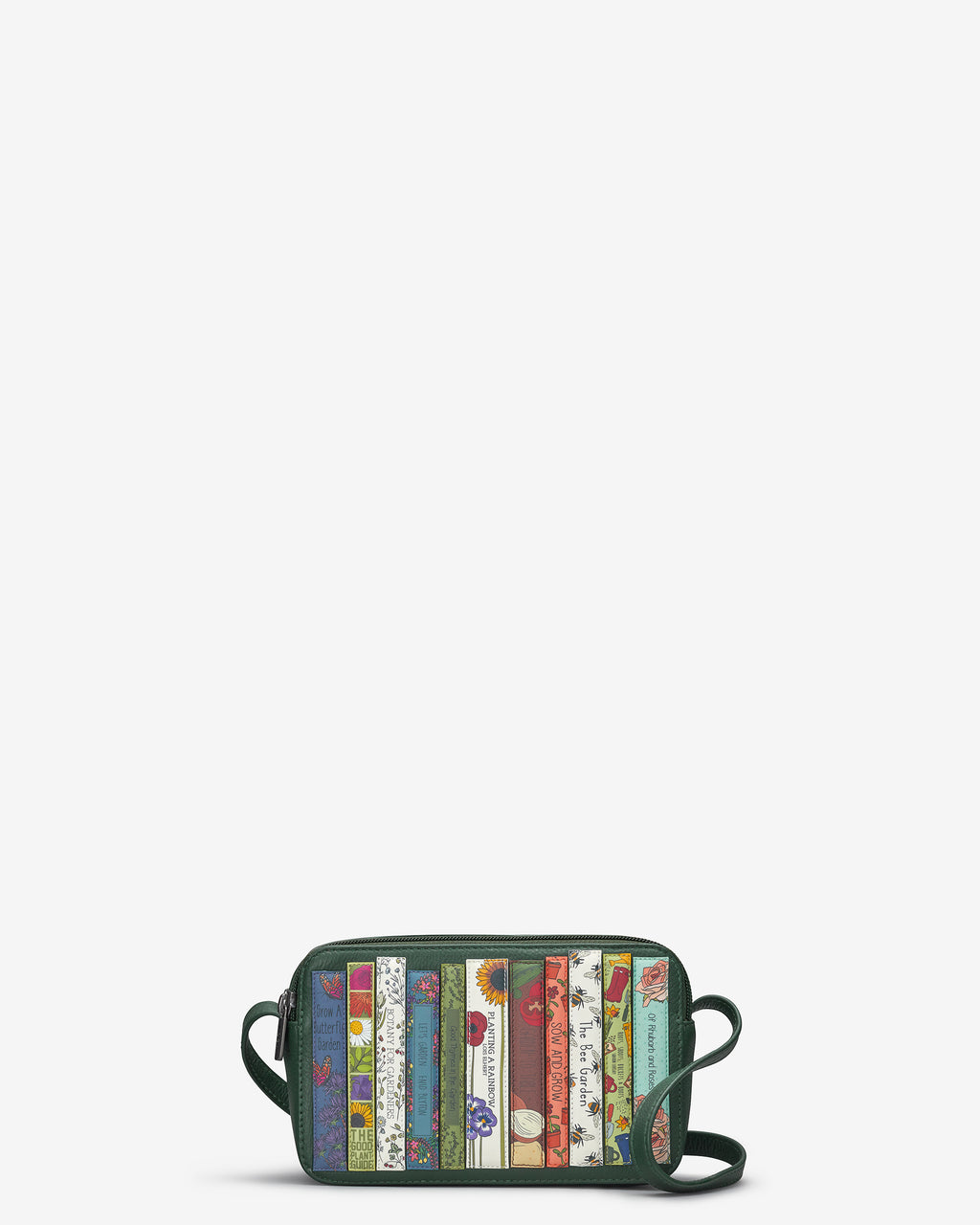 Green Fingers Bookworm Leather Porter Cross Body Bag