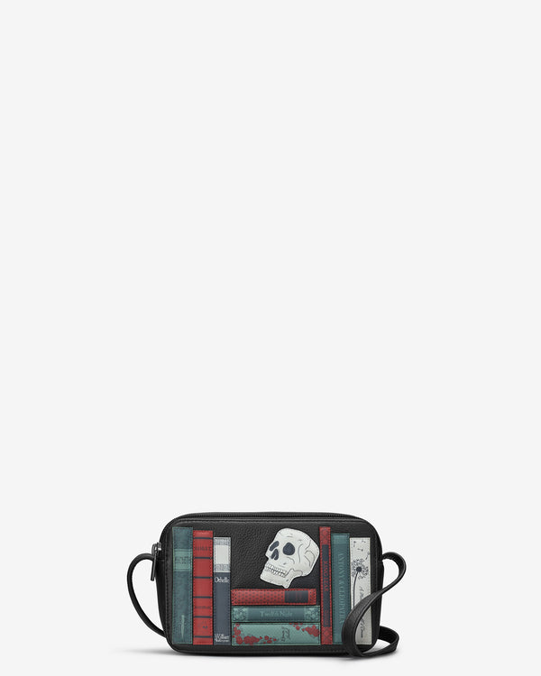 Shakespeare Bookworm Leather Porter Cross Body Bag