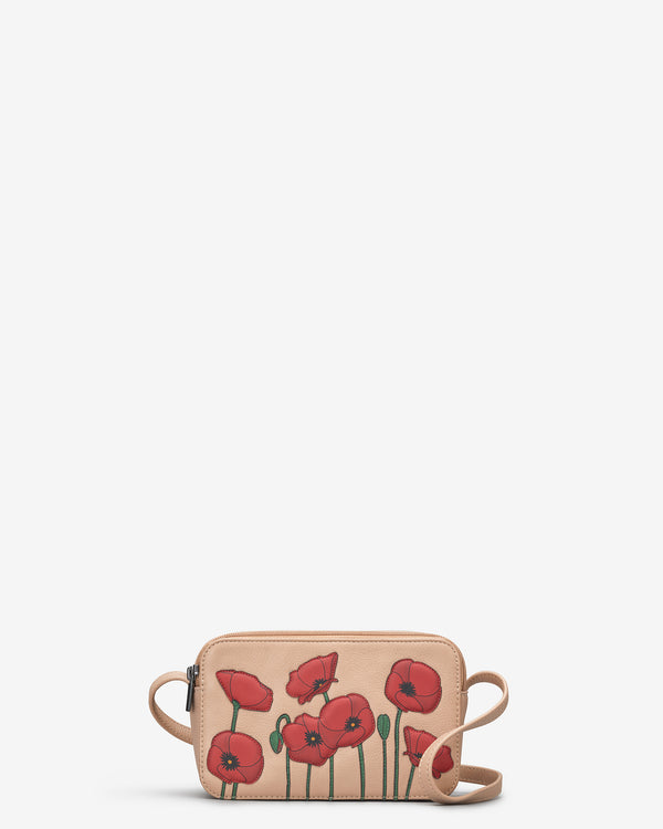 Poppy Porter Leather Cross Body Bag