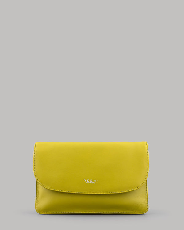 YB34 - The Hampstead Leather Clutch / Shoulder Bag