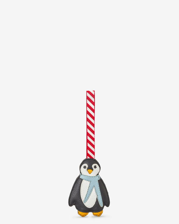 Leather Penguin Christmas Tree Decoration
