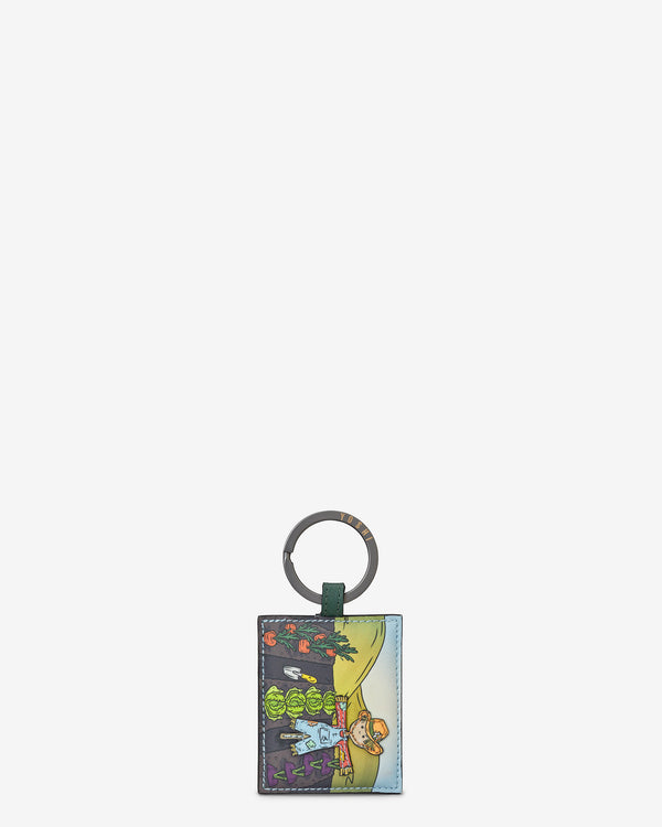 Leather Scarecrow Keyring