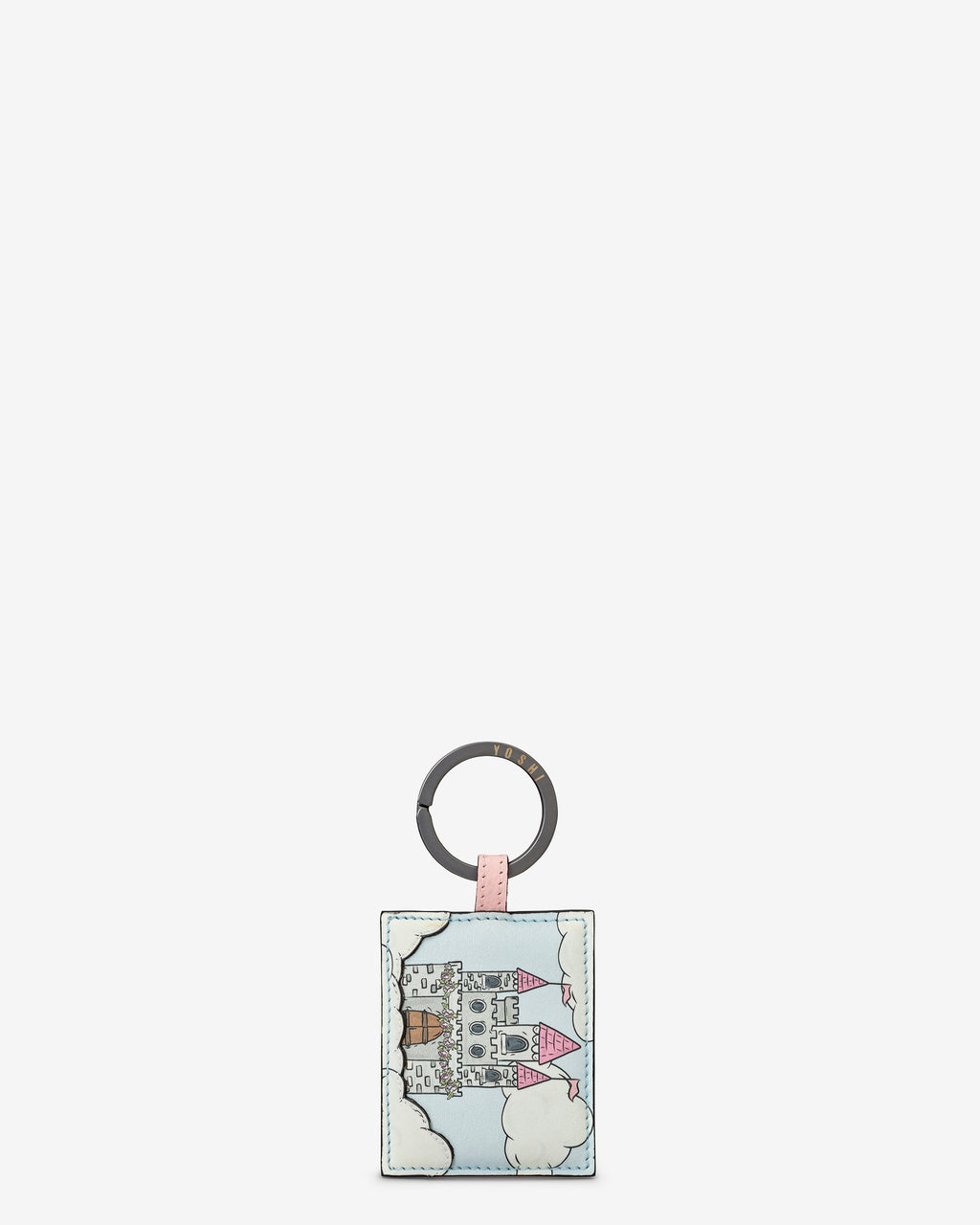 Princess Castle Leather Keyring