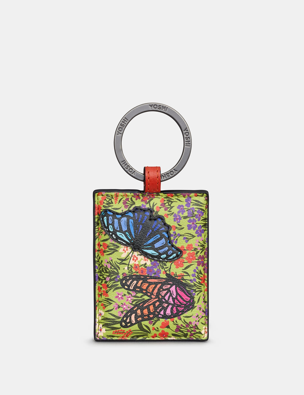 Beautiful Butterflies Leather Keyring