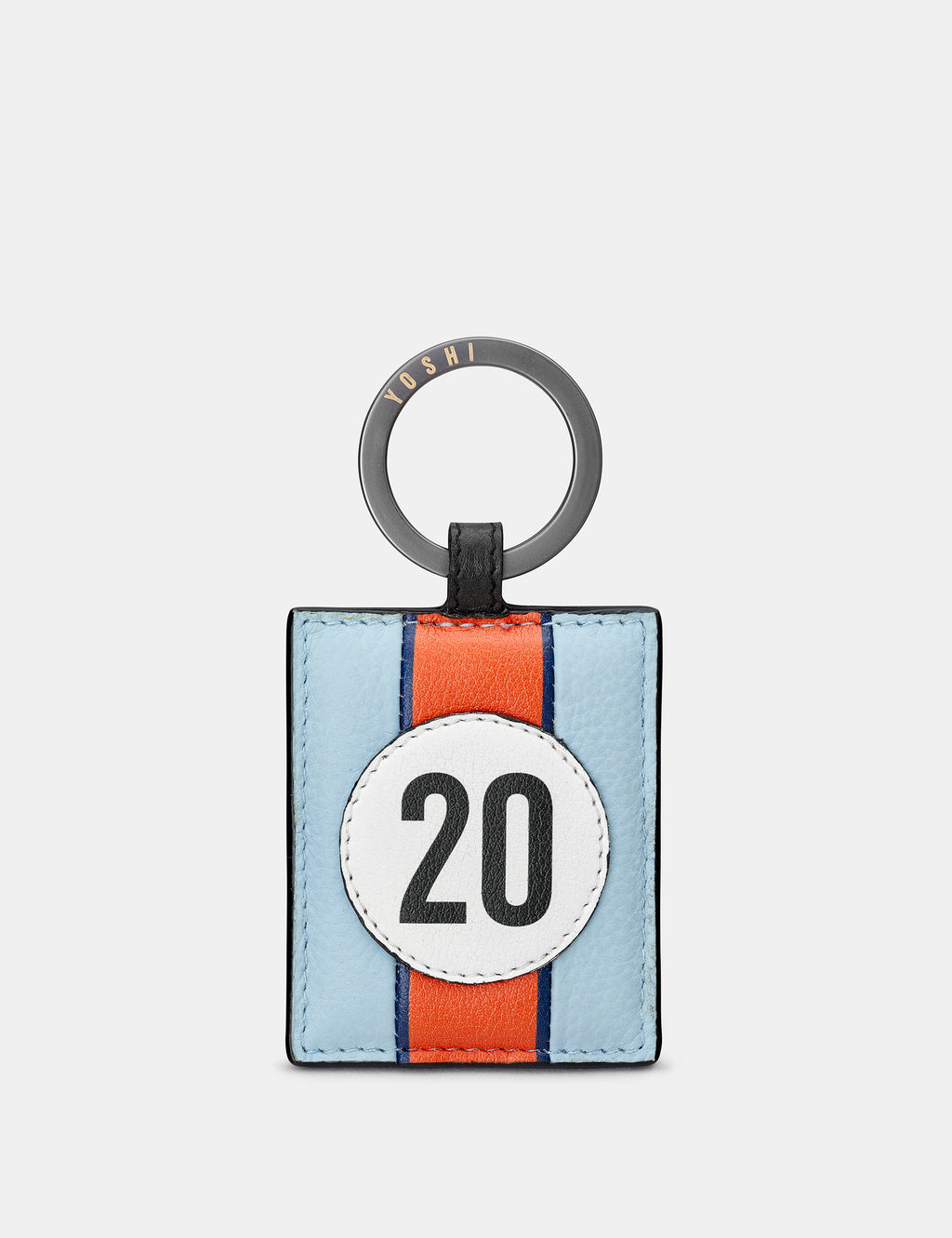 Car Livery No. 20 Leather Keyring