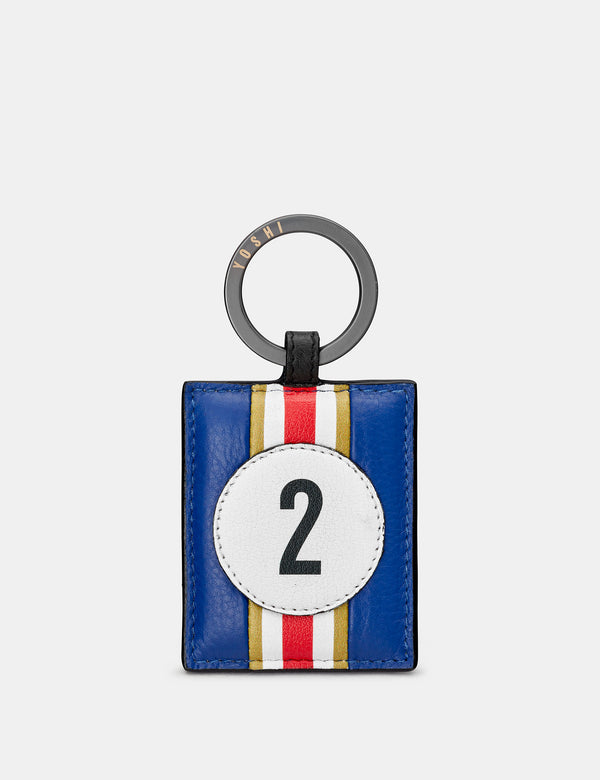 Car Livery No. 02 Leather Keyring