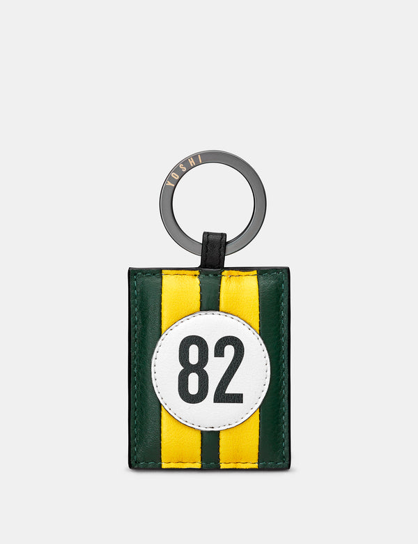 Car Livery No. 82 Leather Keyring