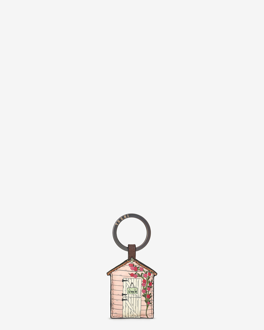 The Potting Shed Leather Keyring