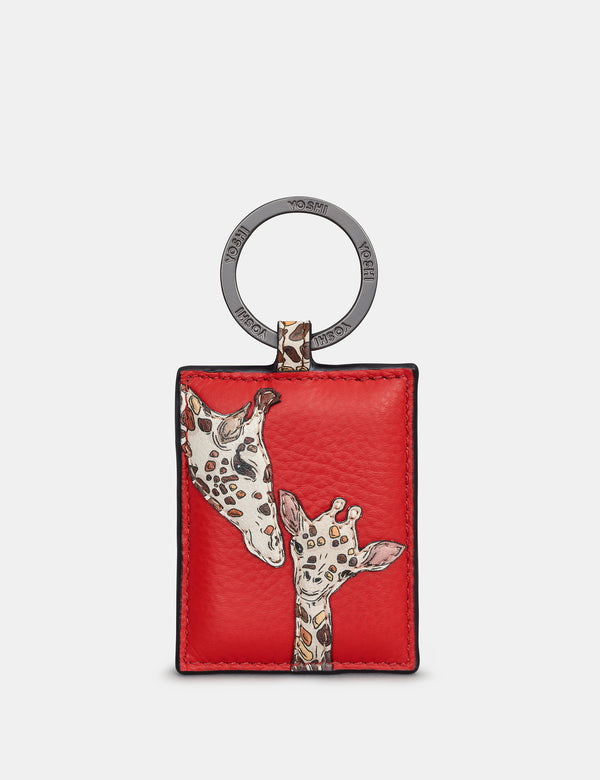 Mothers Pride Leather Keyring
