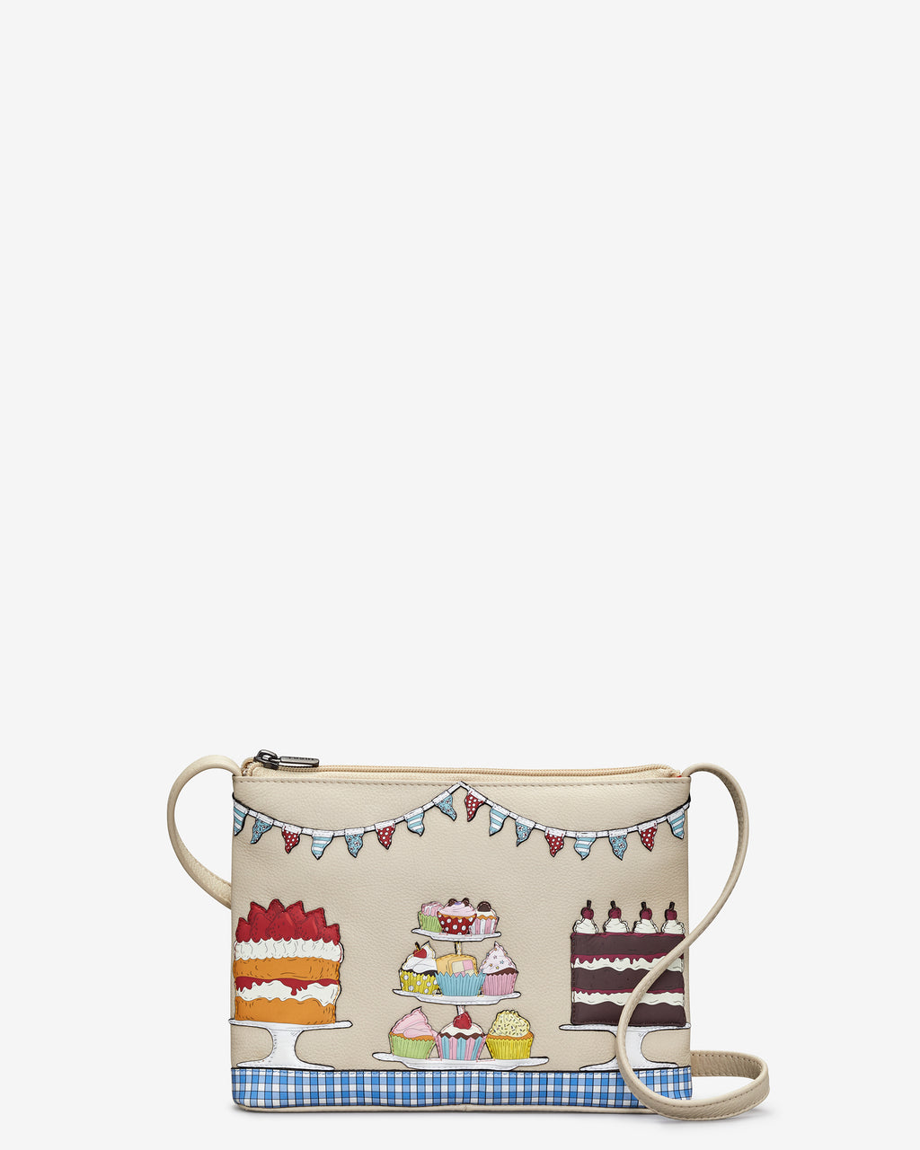 Goodness Bake Leather Cross Body Bag