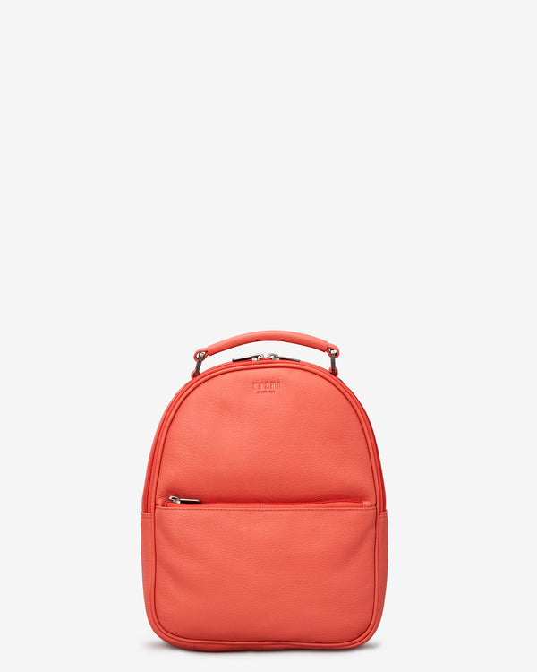 Cooper Coral Leather Backpack