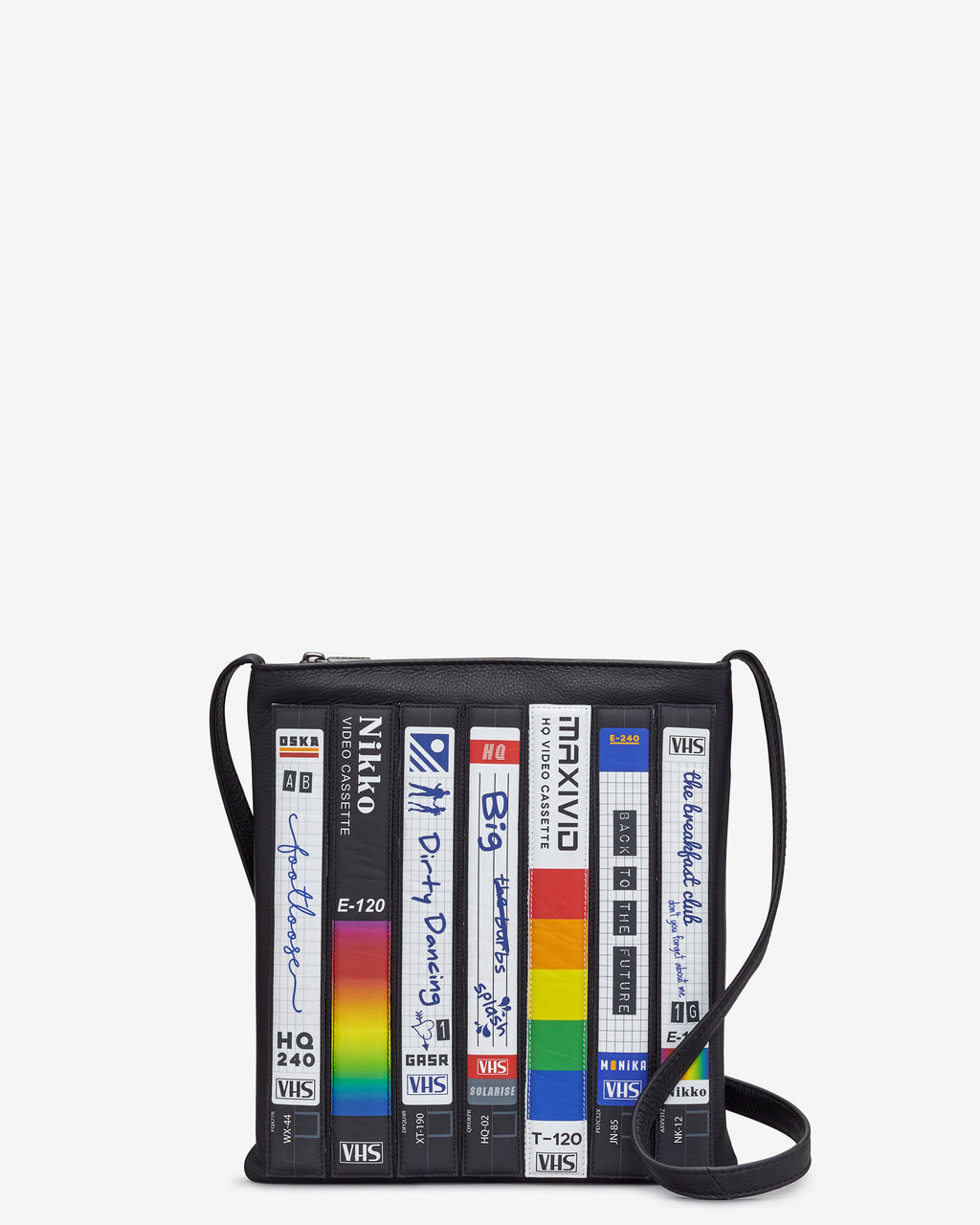 Be Kind Rewind Leather Cross Body Bag