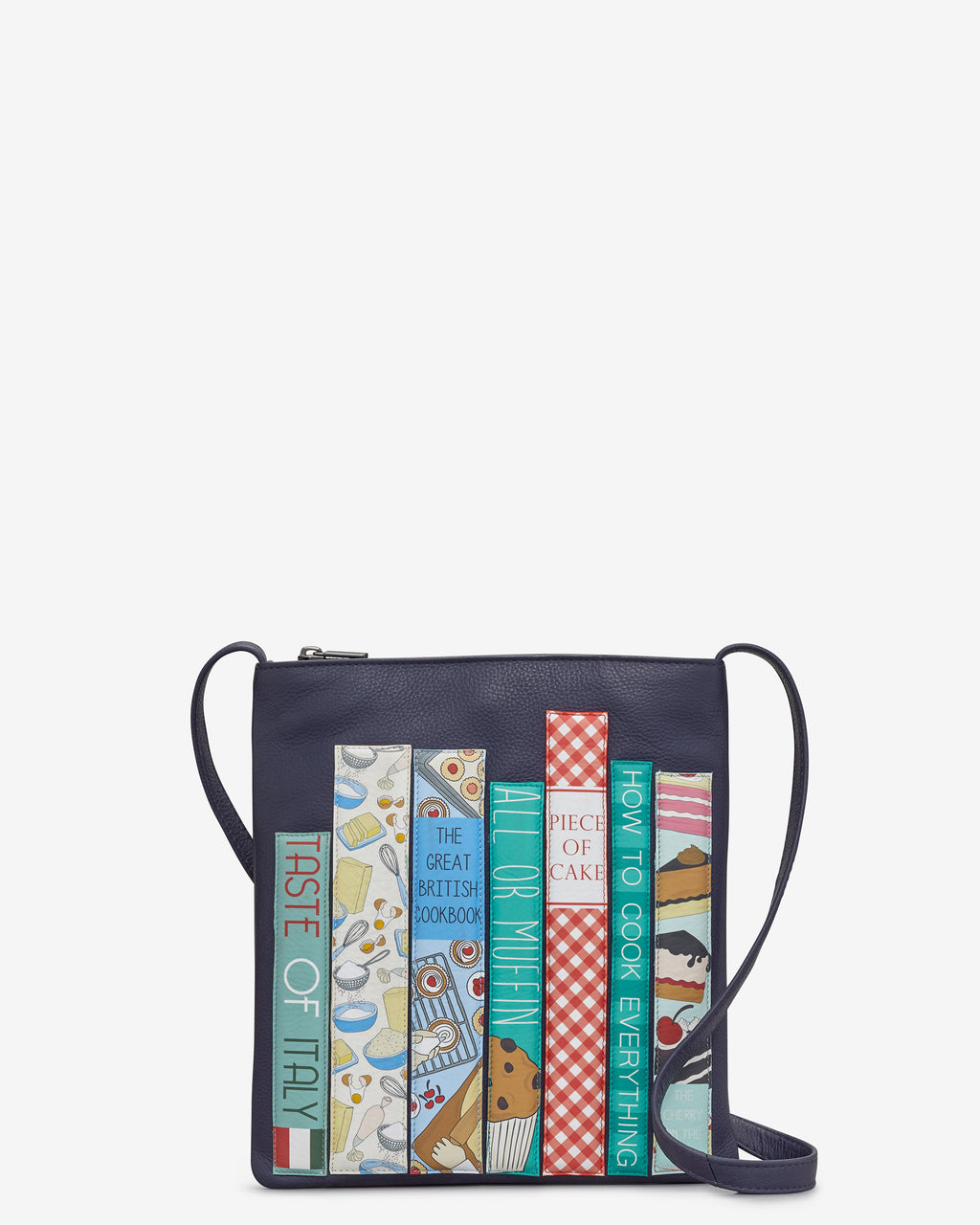Cook Bookworm Leather Cross Body Bag