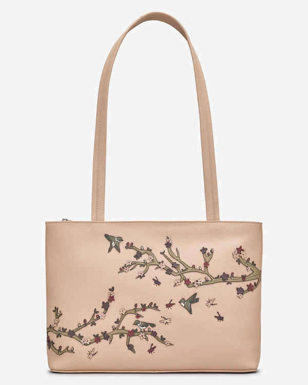 Sakura Leather Shoulder Bag