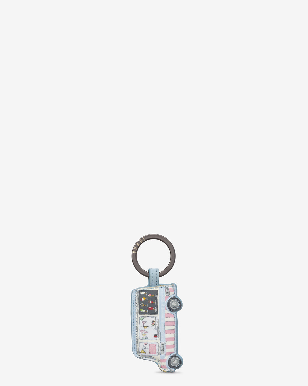 Summer Memories Leather Keyring