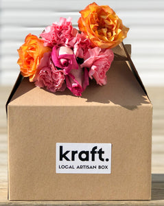 kraft. spring blossom box SOLD OUT