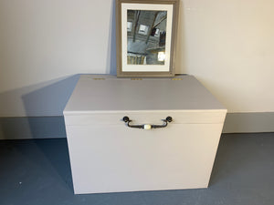 A Large Storage Chest/Box Painted in Fusion Cathedral Taupe-Storage-Hugo Interiors & Paint-Hugo Interiors & Paint