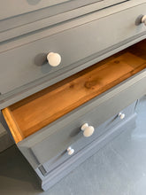 Load image into Gallery viewer, Large Pine Chest of Drawers Hand Painted in Fusion Soapstone - SOLD-furniture-Hugo Interiors & Paint-Hugo Interiors & Paint