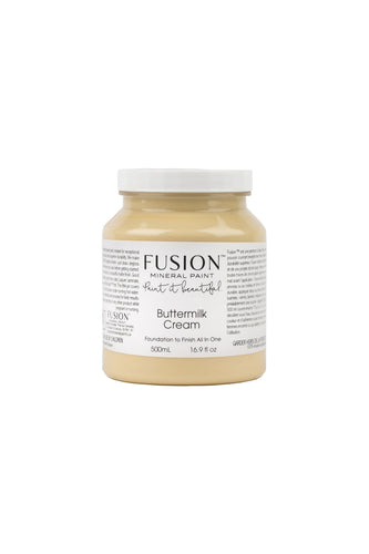 Buttermilk - Soft Creamy Yellow - Fusion Mineral Paint-Paint-Fusion Mineral Paint-500ml-Hugo Interiors & Paint