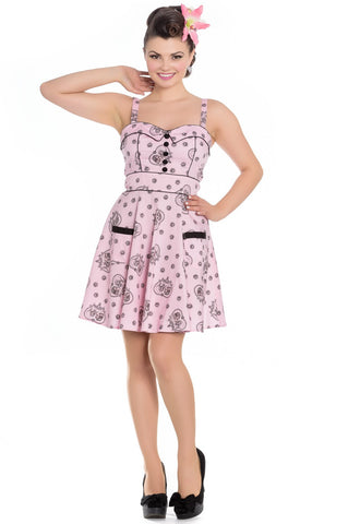 Hell Bunny Keepsake Mini Dress Front