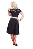 Miss Candyfloss Plus Size Sammi Dress Back View