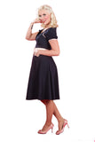 Miss Candyfloss Plus Size Sammi Dress Side View