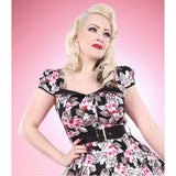 Hearts & Roses Yasmin Dress Vintage Autumn Floral