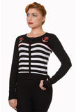 Banned Nautical Stripe Cardigan
