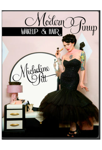 Micheline Pitt Modern Pin Up Makeup & Hair DVD Front