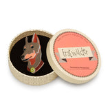 Erstwilder Patrick Pinscher Brooch in Gift Box