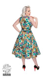 Hearts & Roses London Lilly 50s Vintage Inspired Dresses Back