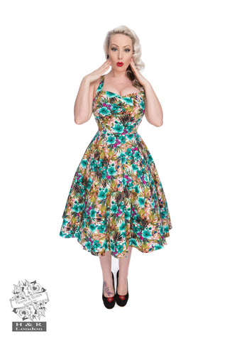 Hearts & Roses London Lilly 50s Rockabilly Dresses Front