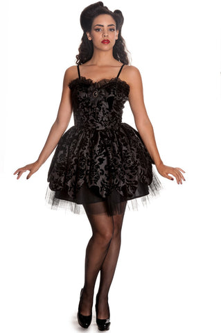 Hell Bunny Victorian Petal Dress Front
