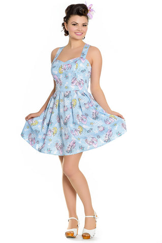 Hell Bunny Andrina Mini Dress Front
