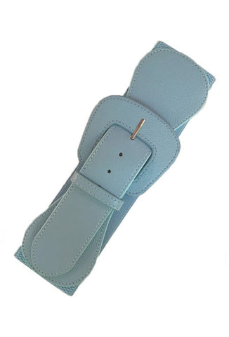 Stretch Belt - Baby Blue