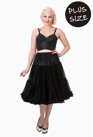 Banned Apparel Plus Size Petticoat with Model