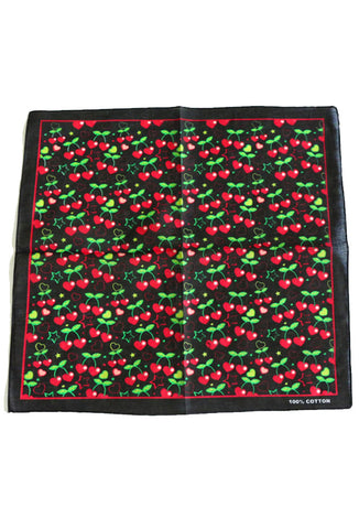 Heart Cherry Bandana
