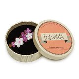 Erstwilder Cheery Cherry Blossom Brooch in gift box