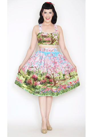 Bernie Dexter Trixie Skirt - Cherry Tree Lane with Model