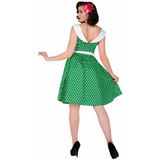 Dolly & Dotty Cindy Dress - Green Back