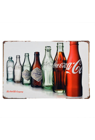 Retro Metal Sign - Coca Cola