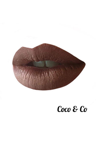 Coco & Co - Liquid Velvet Lipstick