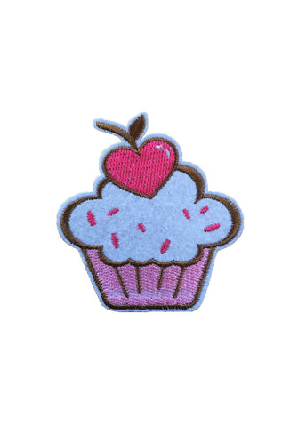 Iron On Large Cupcake Patch