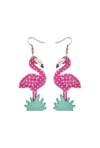 Erstwilder Flamboyant Flamingo Funk Earrings - Spring 2015