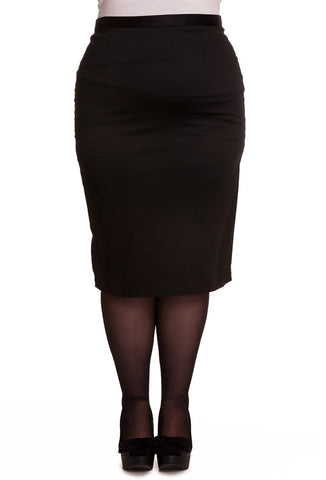 Hell Bunny Plus Size Frankie Skirt Front View
