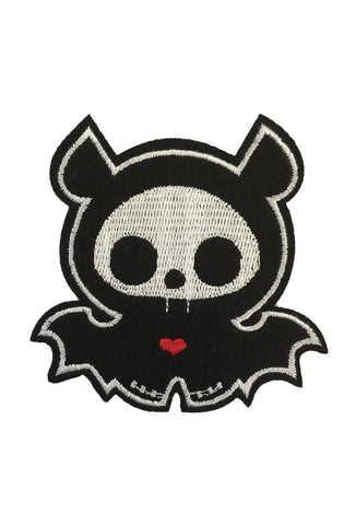 Iron On Large Spooky Bat Patch x 1