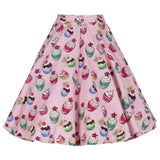 Lindy Bop Peggy Cupcake Skirt Back