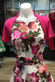 Short Sleeve Bolero - Hot Pink on Mannequin