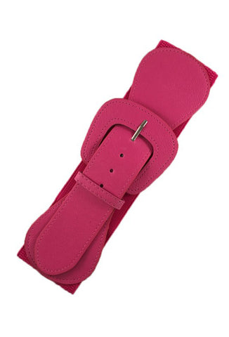 Stretch Elastic Belt - Pink